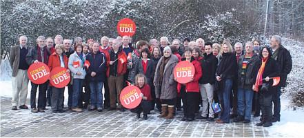 Vertreter der SPD ERH und der SPD Erlangen